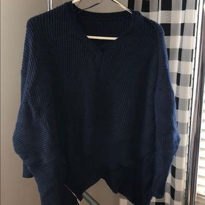 Sweaters - Boutique Navy Sweater